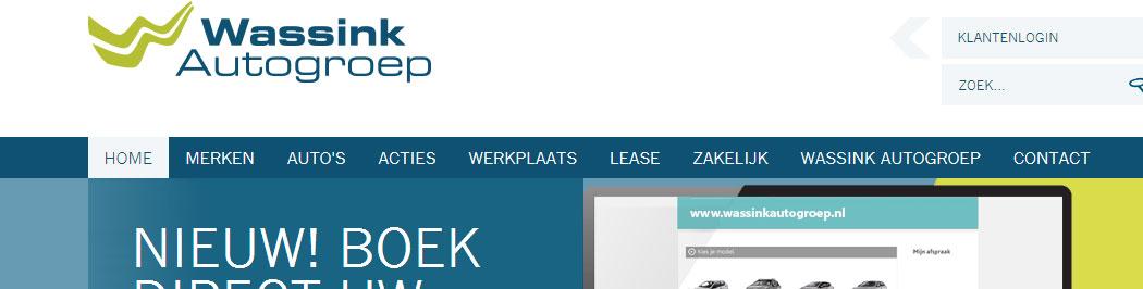 Adem, dé proefritplanner geïntegreerd in de website van Wassink Autogroep!